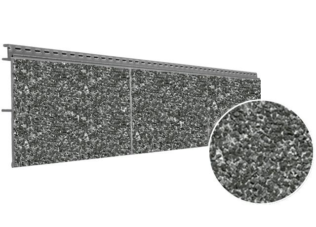 Bardage Vinystone 400 180x26 Mm Longueur 1.20ml Basalt