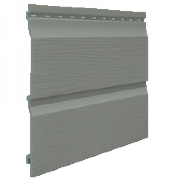 Visuel Bardage PVC Cellulaire Kerrafront® FS202 Gris quartz 6 ml