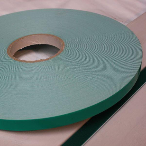 Visuel Adhésif double face PVC Blanc Colglass® 16 x 1 mm