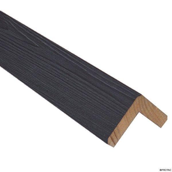 Visuel Cornière d'angle Clinexel® 62 x 62 mm Épicéa Bauxite
