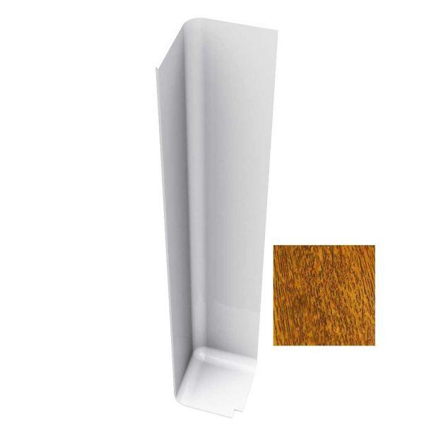 Visuel Angle Extérieur pour Planche de Rive en L 300 mm Chêne doré