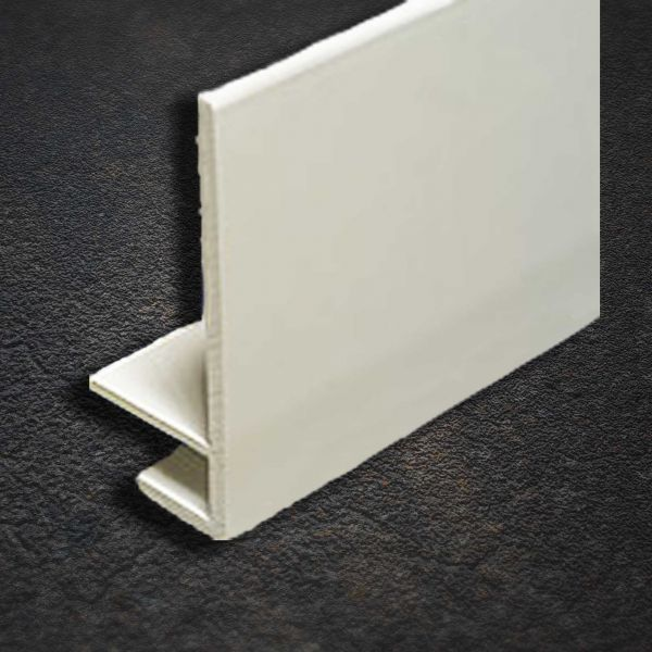 Visuel Profil d'Angle en U Blanc