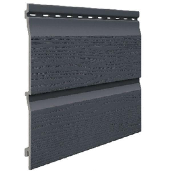 Visuel Bardage PVC Cellulaire Kerrafront® FS202 Gris anthracite 6 ml