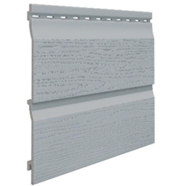 Visuel Bardage PVC Cellulaire Kerrafront® FS202 Gris 3 ml