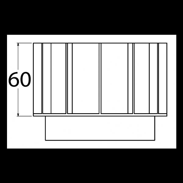 Visuel Réhausse 60 mm pour Plot Gamme Essentielle