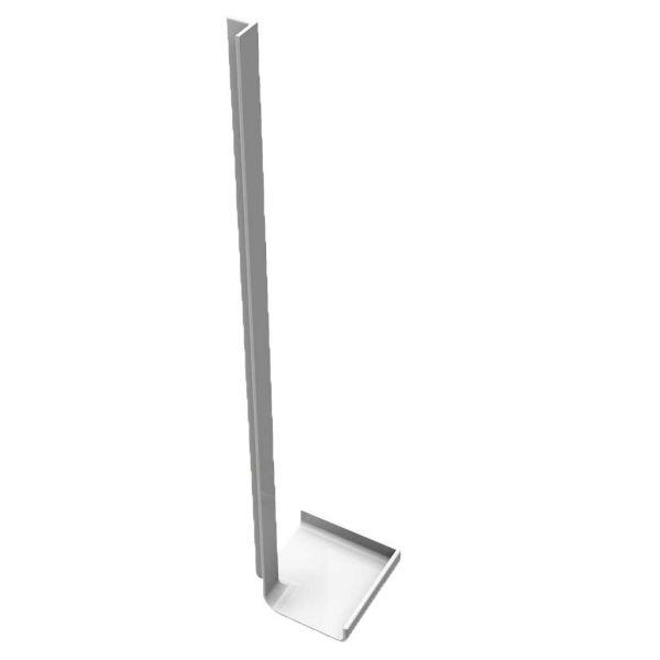 Visuel Angle Intérieur H. 300 mm pour Planche de Rive en L Arrondie Blanc