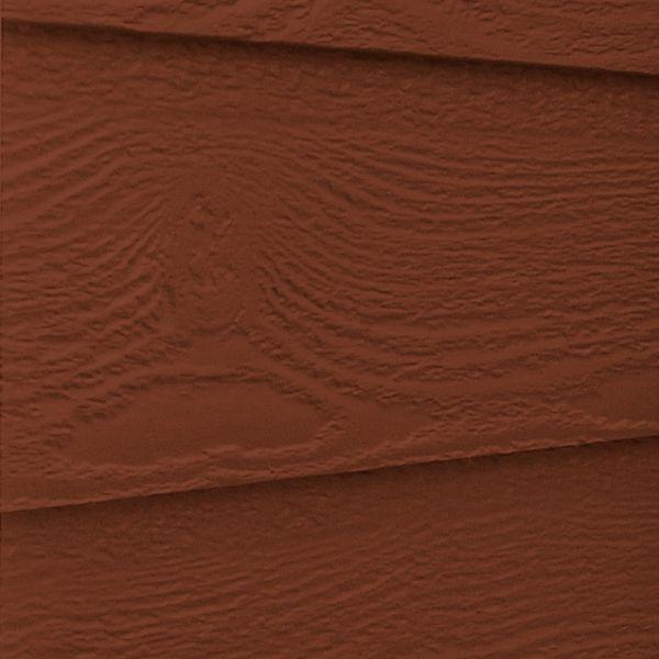Visuel Bardage Fibre de bois Naturetech® Laurentien Rouge campagne
