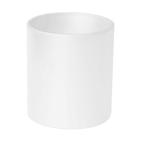 Visuel Manchon pour Descente diam. 80 mm Blanc