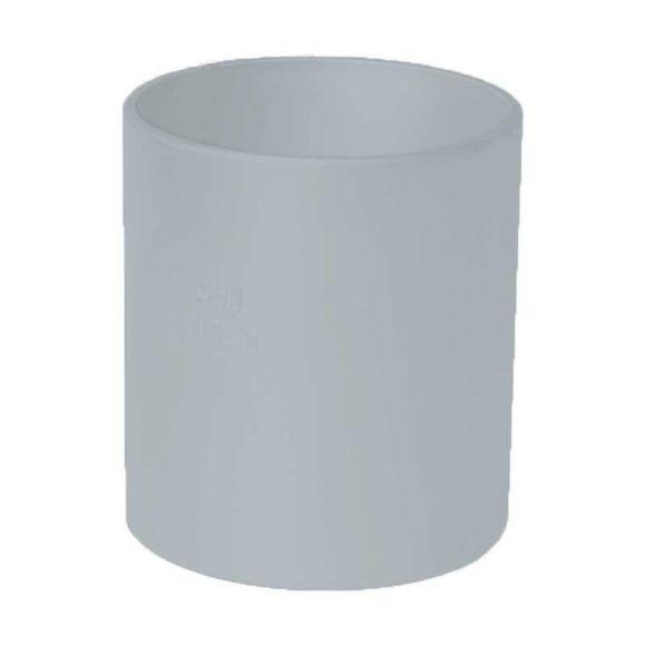 Visuel Manchon pour Descente diam. 80 mm Zinc