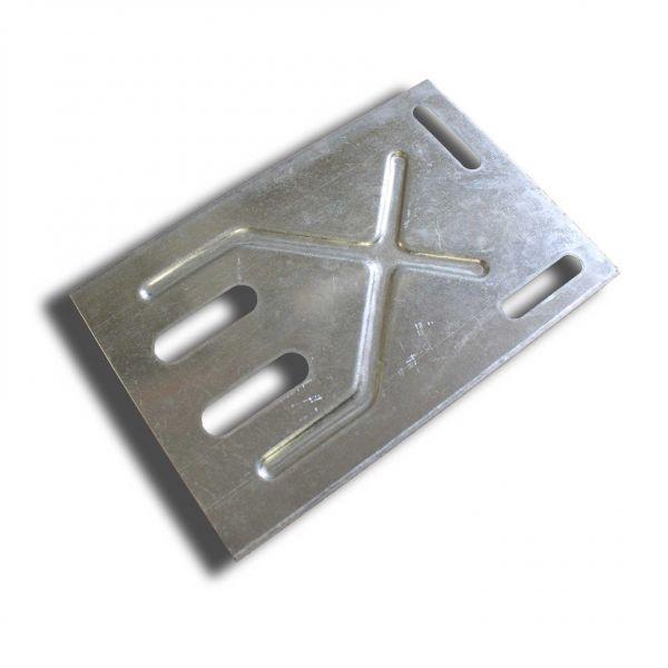 Visuel Plaque d'angle pour fixation de chevrons rectangulaire ou carrés