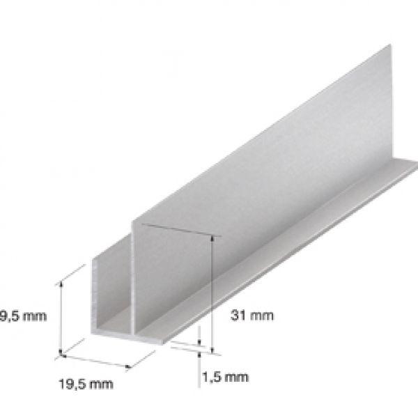 Visuel Angle extérieur 19.5 x 19.5 mm Silver 2.7ml