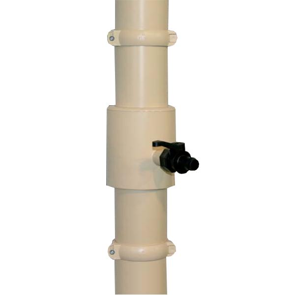 Visuel Récupérateur Eau Pluviale pour Tube 80 ou 100 mm Sable