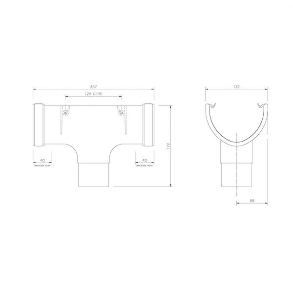 Visuel Naissance Centrale 68 mm Joint Anthracite
