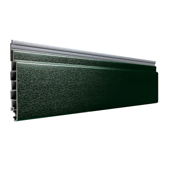 Visuel Bardage PVC Alvéolaire Vinyplus® Rond Aspect Bois Vert sapin - 4 x 6 ml