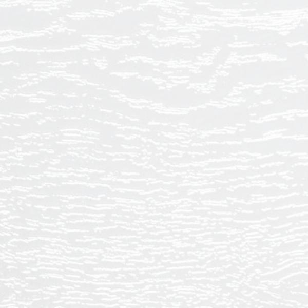 Visuel Bardage PVC Alvéolaire Vinyplus® Rond Aspect Bois Blanc - 4 x 6 ml