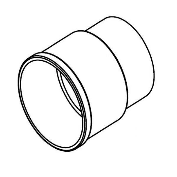 Visuel Manchon Rond 68 mm Anthracite