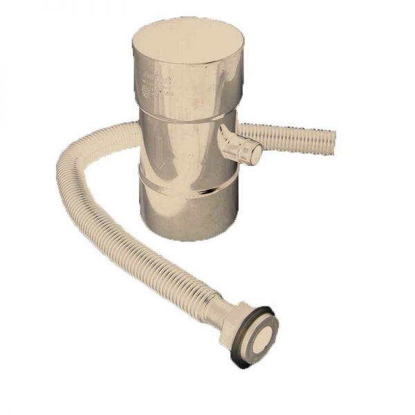 Visuel Récupérateur Pluvial pour Tuyau de Descente 80 mm Beige