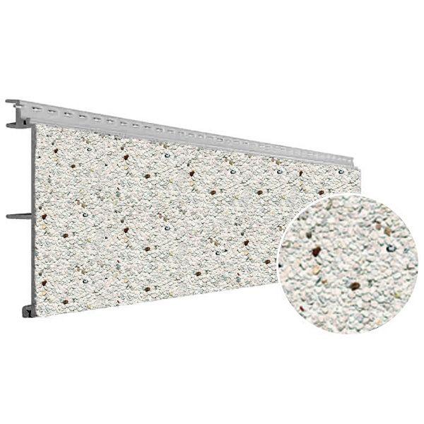 Visuel Bardage PVC Vinystone® Design Aspect Pierre Dolomit - 6 x 1.20 ml