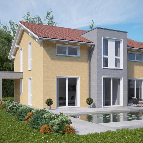 Visuel Bardage PVC Vinystone® Design Aspect Pierre Sahara - 6 x 1.20 ml