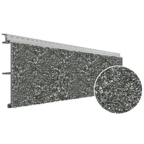 Visuel Bardage PVC Vinystone® Design Basalt - 6 x 1.20 ml