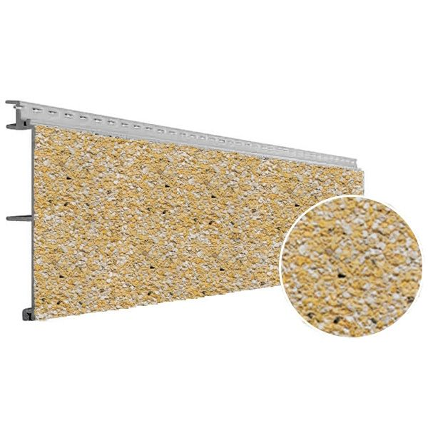 Visuel Bardage PVC Vinystone® Design Aspect Pierre Rhodos - 6 x 1.20 ml