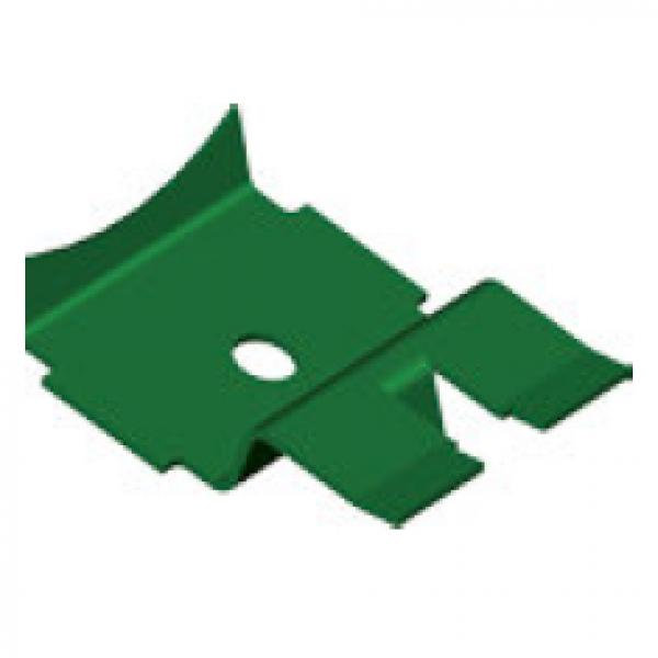 Visuel Clips Aquilon® à Languette Inox Collection Brillance Vert