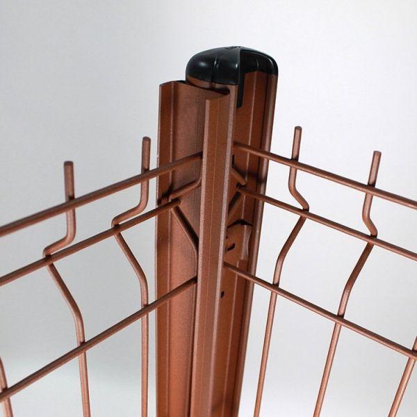 Visuel Feuillure Aquilon® Aluminium H.1,55 m Vert