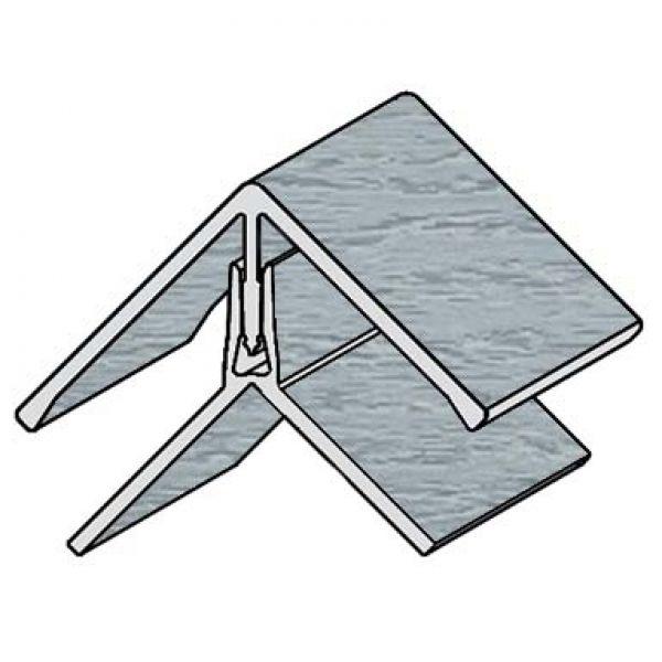 Visuel Profil d'angle Kerrafront® Gris