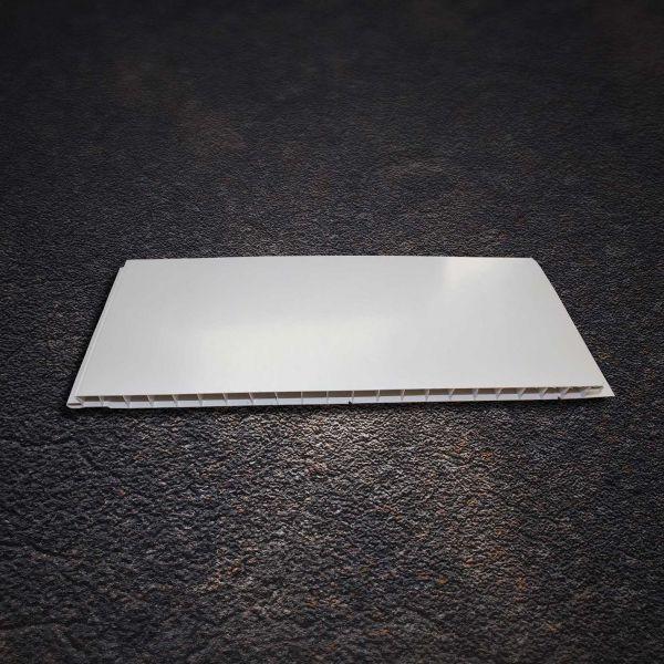 Visuel Sous face Alvéolaire 250 x 10 mm Lisse Blanc