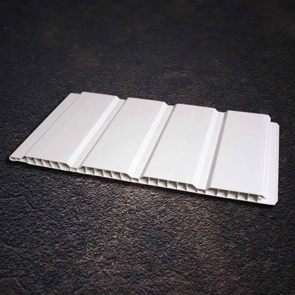 Visuel Sous face Alvéolaire 250 x 10 mm Blanc 3ml