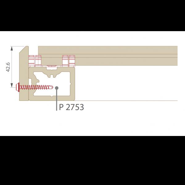 Visuel Plinthe 77,6 x 9,6 mm pour Terrasse Twinson Gris ardoise