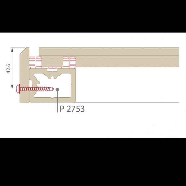 Visuel Plinthe 77,6 x 9,6 mm pour Terrasse Twinson Noir réglisse