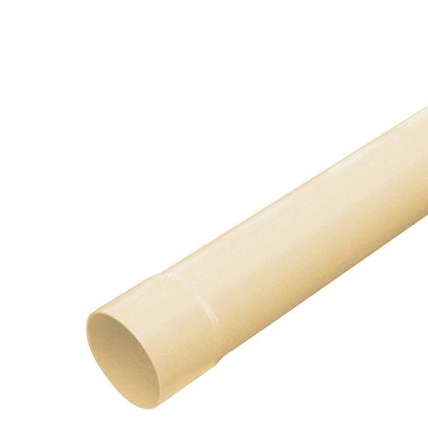 Visuel Tube de descente D.80 mm Longueur 4 ml Sable