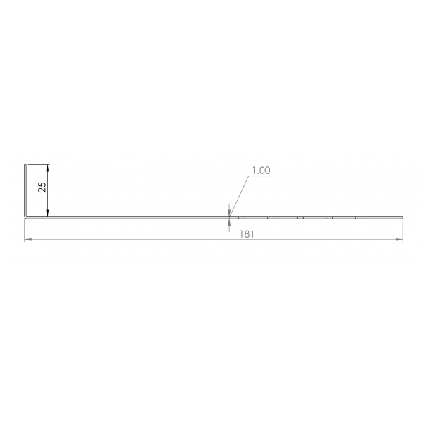 Visuel Tôle départ Alu Ventilée Packeasy® prof. 181 mm RAL 3011