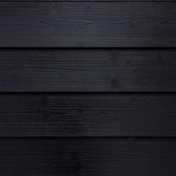 Visuel Bardage Bois peint Clinexel® Épicéa Acadien Carbon