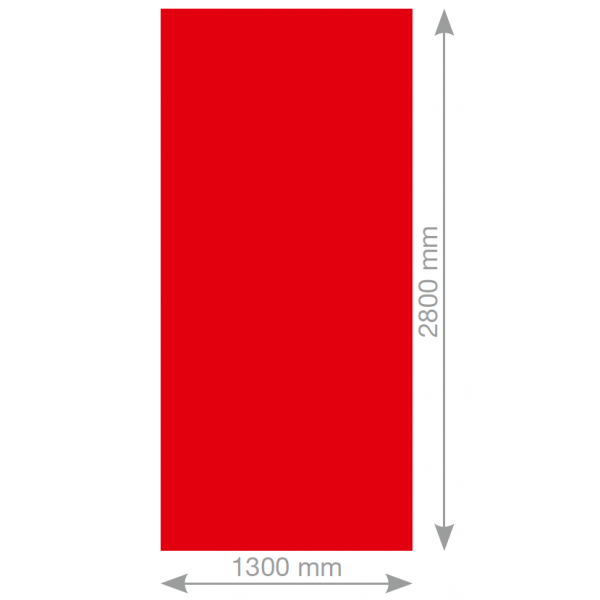 Visuel Panneau de façade HPL Fundermax® 2800 x 1300 x 6 mm Akro rust