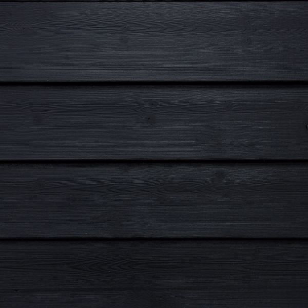 Visuel Bardage Bois peint Clinexel® Épicéa Acadien Intense black