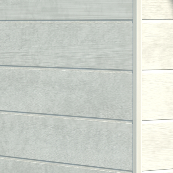 Visuel Bardage PVC Cellulaire Kerrafront® FS301 Connex Stone Gris perle 2.95 ml