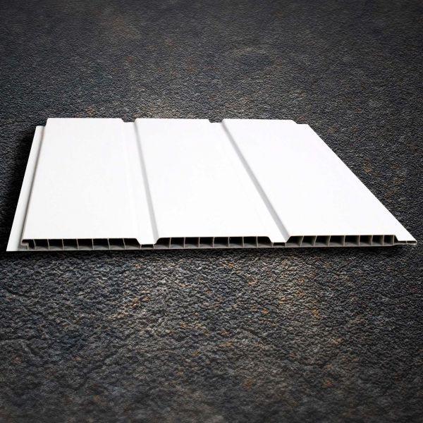 Visuel Sous face Alvéolaire 300 x 10 mm Lourde Blanc