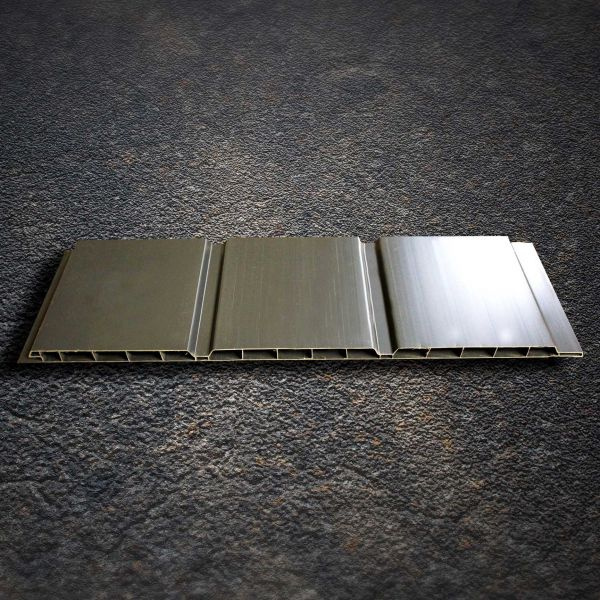Visuel Sous face Alvéolaire 300 x 10 mm Lourde Gris anthracite