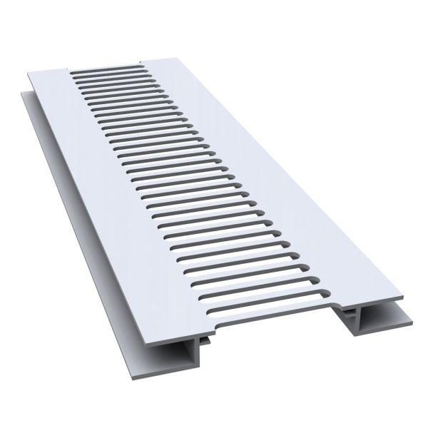 Visuel Ventilation Femelle/Femelle 80 x 100 mm Blanc