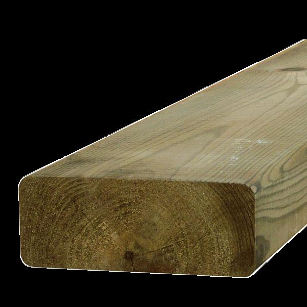Visuel Bois de construction raboté Pin Rouge du Nord CL4 vert 45 x 195 4.2 ml