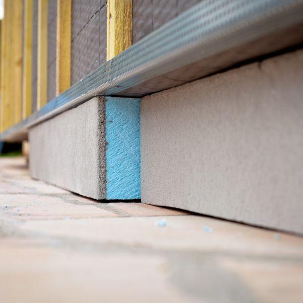 Visuel Panneau rigide en mousse de polystyrène extrudé bleu