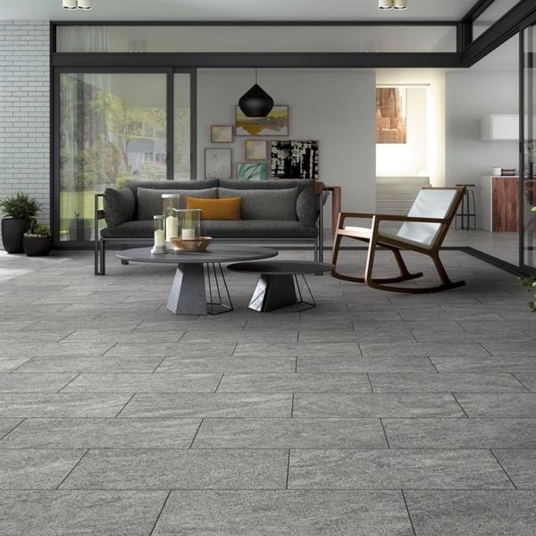 Visuel Dalle Céramique Name 45 x 90 mm Swiss grey