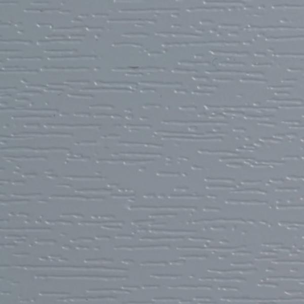 Visuel Bardage PVC Alvéolaire Vinyplus® Rond Aspect Bois Gris - 4 x 6 ml