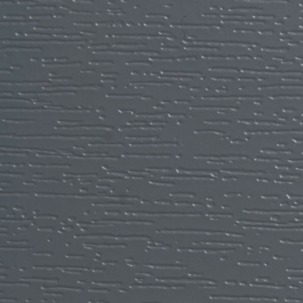 Visuel Bardage PVC Alvéolaire Vinyplus® Rond Aspect Bois Gris basalt - 4 x 6 ml