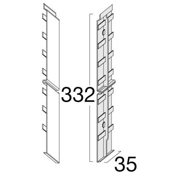 Visuel Éclisse FS302 332 x 35 mm Beige