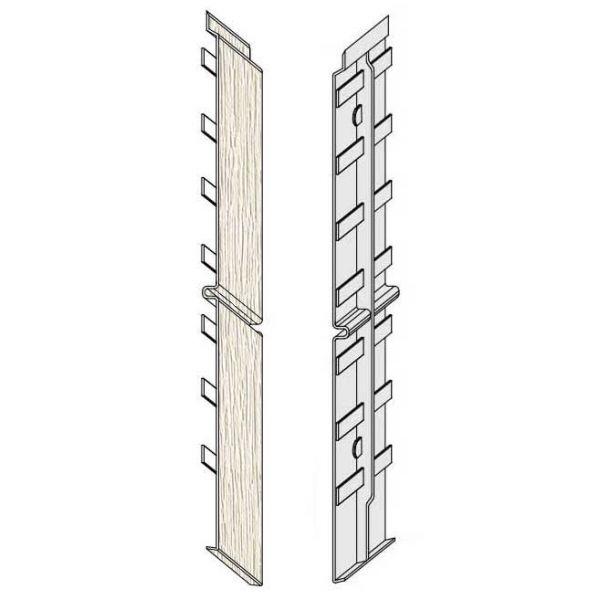Visuel Éclisse FS302 332 x 35 mm Blanc