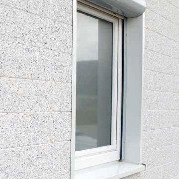 Visuel Encadrement linteaux perforé Vinycom 115 x 55 mm Blanc - 6 x 6 ml