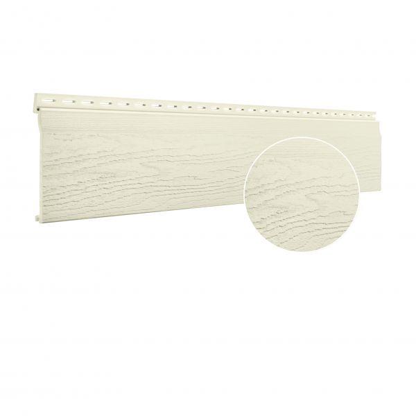 Visuel Bardage PVC cellulaire Vinytop 167 x 18 mm Ivoire clair 6 ml